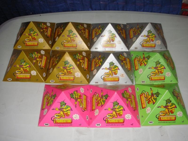 KOMBATTINI NINJA 11 Piramidi 8pz Fondo di magazzino 165€ Spedite  Dsc00414