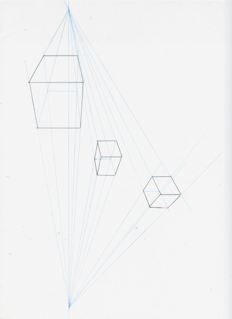 3 dessins Cube_110