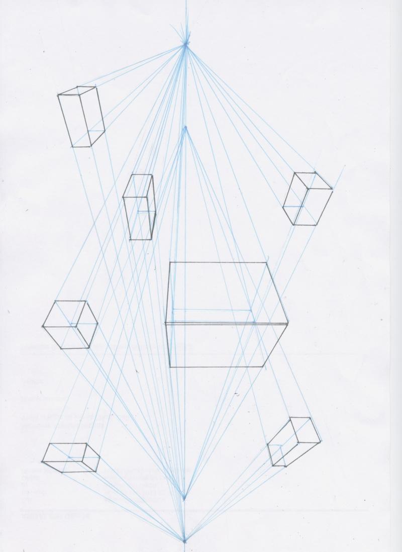 3 dessins Cube_210