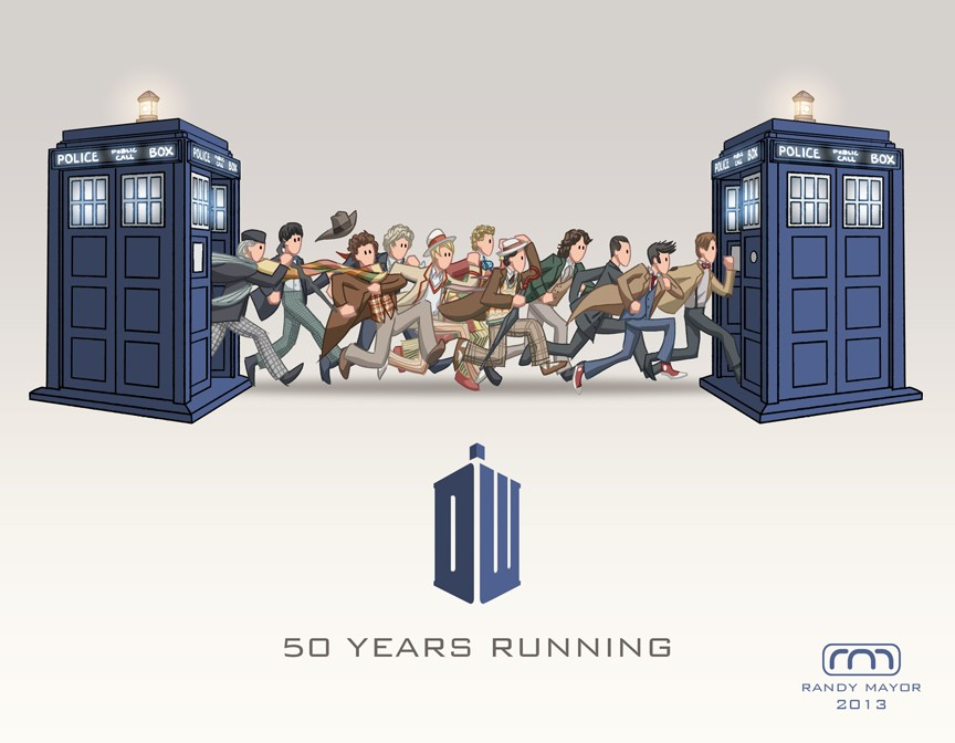 50th anniversary <3 <3 Doctor12