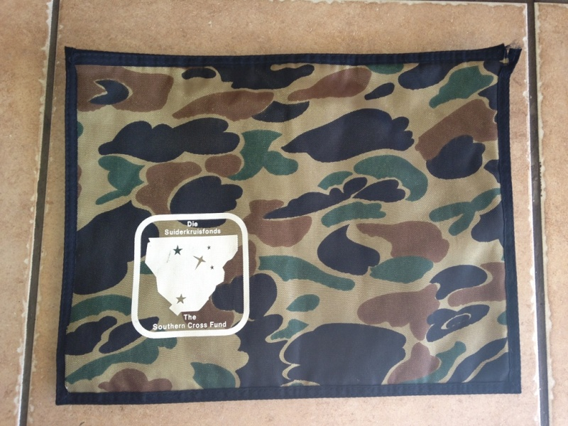 Southern Cross Funds Duck Hunter camo toiletry bag Img_0310