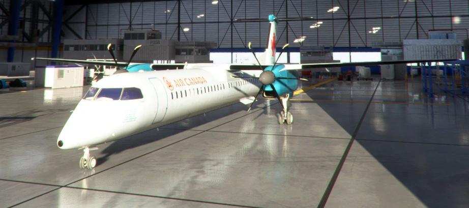 NEW Bombardier Dash8 Q400  Swezv710