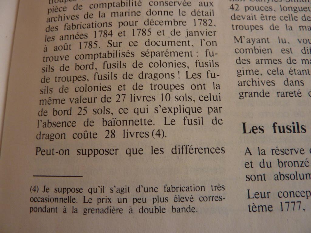 FUSIL DE TROUPE DES COLONIES 1777 ????? P1030524