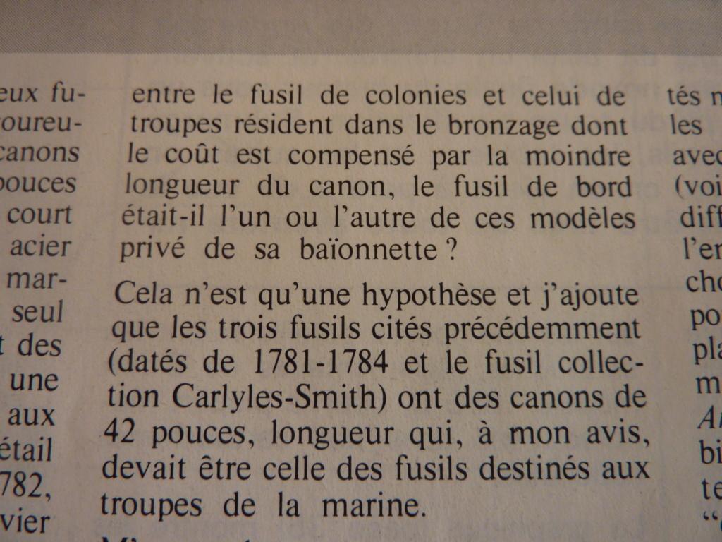 FUSIL DE TROUPE DES COLONIES 1777 ????? P1030525