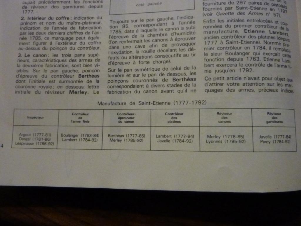 MOUSQUETON GROSSE CAVALERIE 1777 (poinçons divers) P1030539