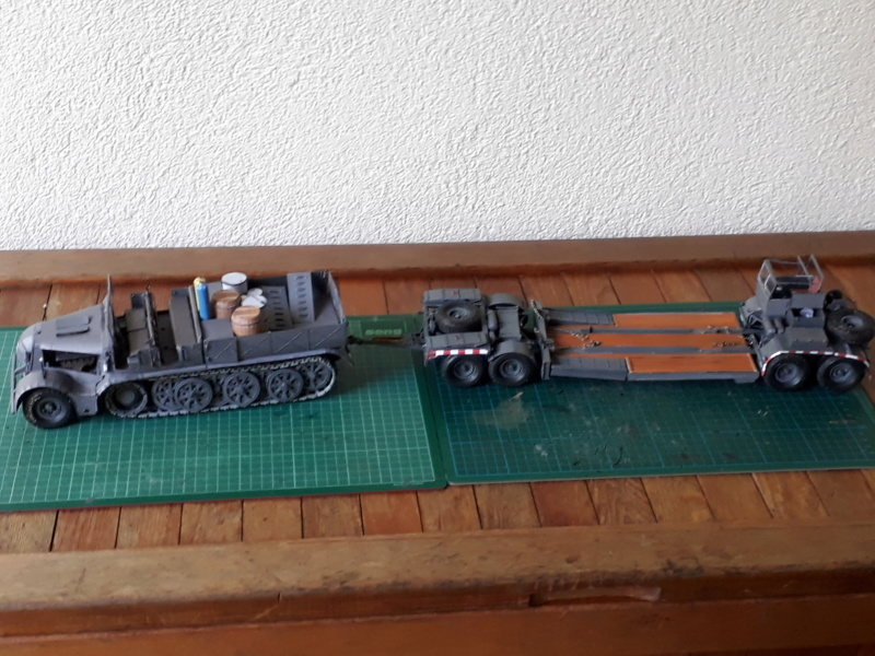Fertig 12,8 cm Kanone-Krupp,Maßst. 1:25 geb. v. Henning 20180991