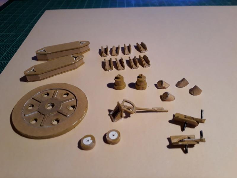 Fertig 12,8 cm Kanone-Krupp,Maßst. 1:25 geb. v. Henning 20181012