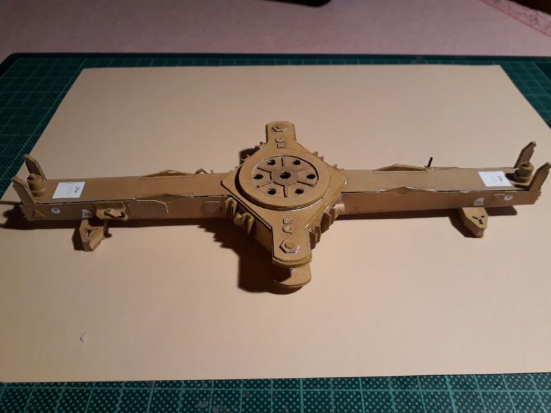 Fertig 12,8 cm Kanone-Krupp,Maßst. 1:25 geb. v. Henning 20181014