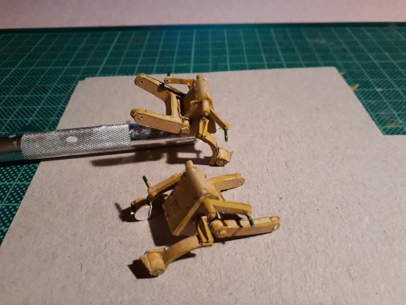 Fertig 12,8 cm Kanone-Krupp,Maßst. 1:25 geb. v. Henning 20181017
