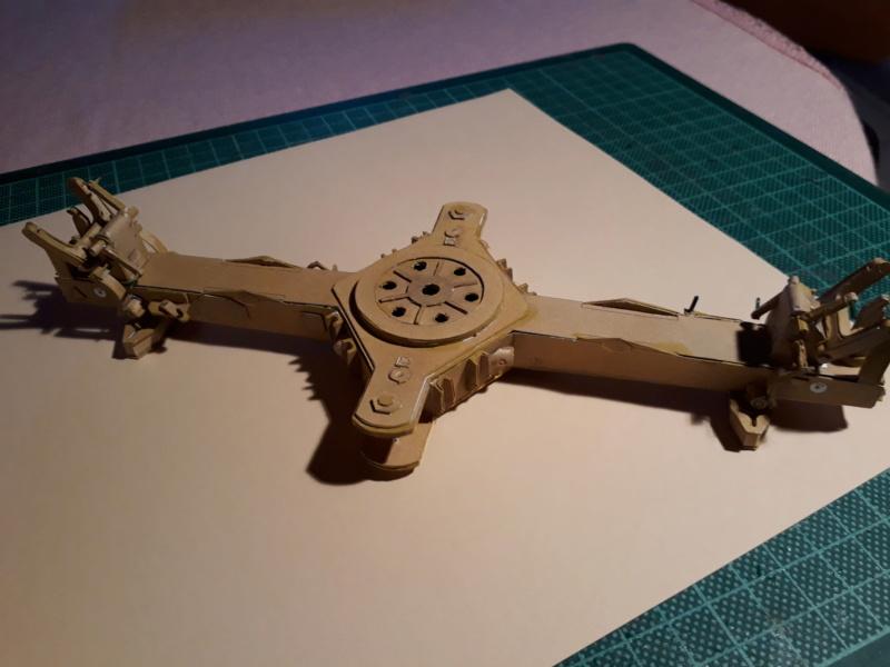 Fertig 12,8 cm Kanone-Krupp,Maßst. 1:25 geb. v. Henning 20181018