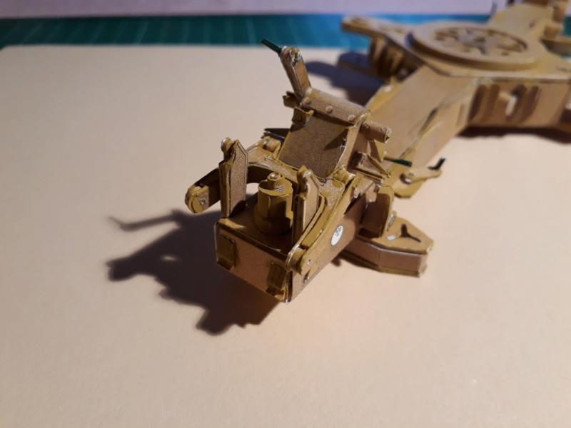 Fertig 12,8 cm Kanone-Krupp,Maßst. 1:25 geb. v. Henning 20181019
