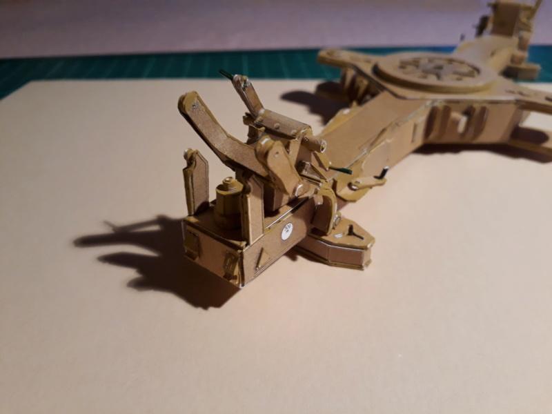 Fertig 12,8 cm Kanone-Krupp,Maßst. 1:25 geb. v. Henning 20181020