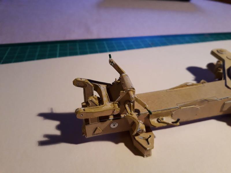 Fertig 12,8 cm Kanone-Krupp,Maßst. 1:25 geb. v. Henning 20181021