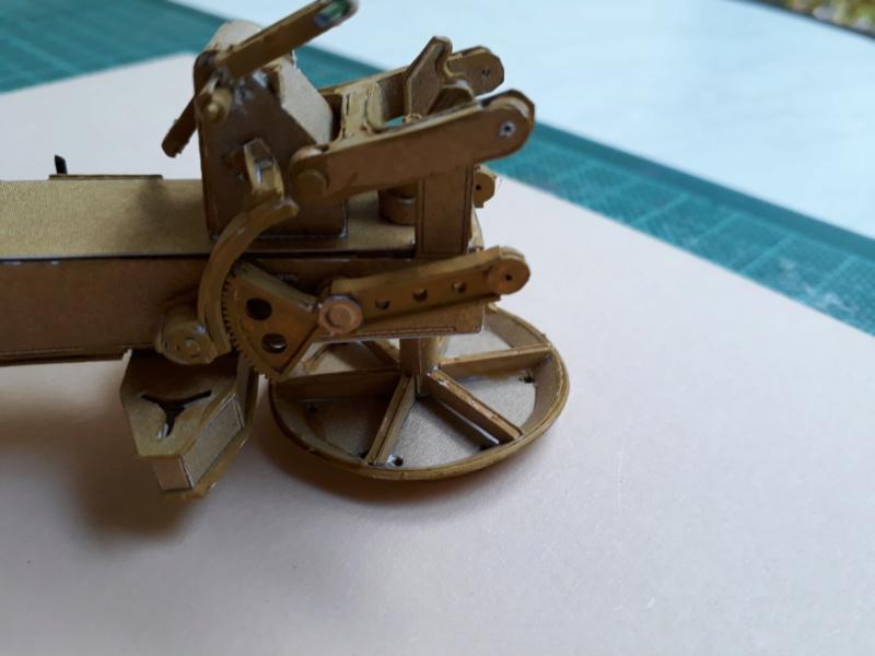 Fertig 12,8 cm Kanone-Krupp,Maßst. 1:25 geb. v. Henning 20181026