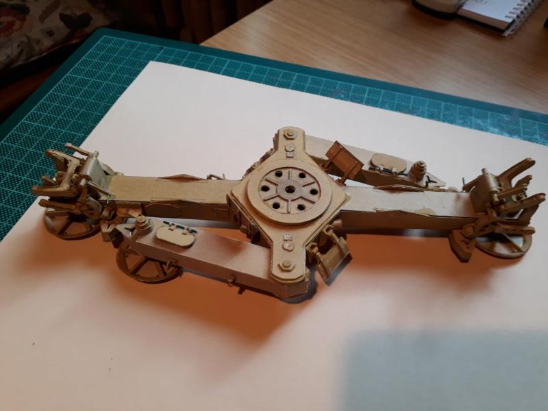 Fertig 12,8 cm Kanone-Krupp,Maßst. 1:25 geb. v. Henning 20181030