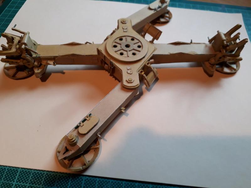 Fertig 12,8 cm Kanone-Krupp,Maßst. 1:25 geb. v. Henning 20181031