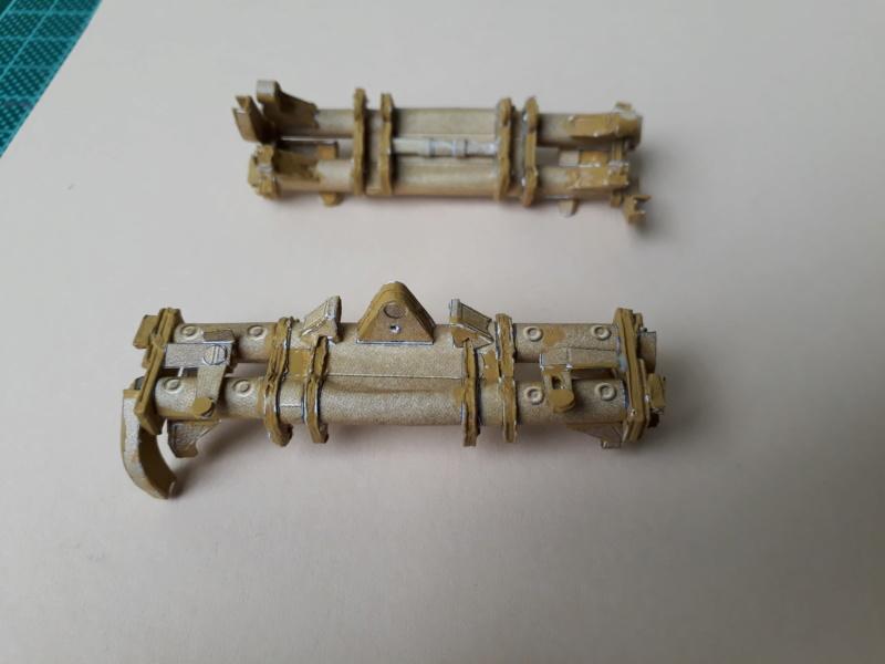 Fertig 12,8 cm Kanone-Krupp,Maßst. 1:25 geb. v. Henning 20181036