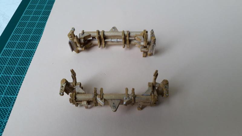 Fertig 12,8 cm Kanone-Krupp,Maßst. 1:25 geb. v. Henning 20181037