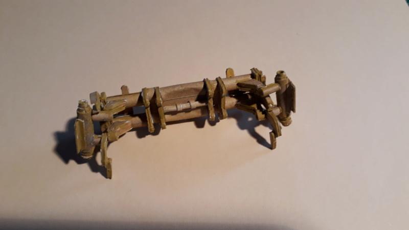 Fertig 12,8 cm Kanone-Krupp,Maßst. 1:25 geb. v. Henning 20181039