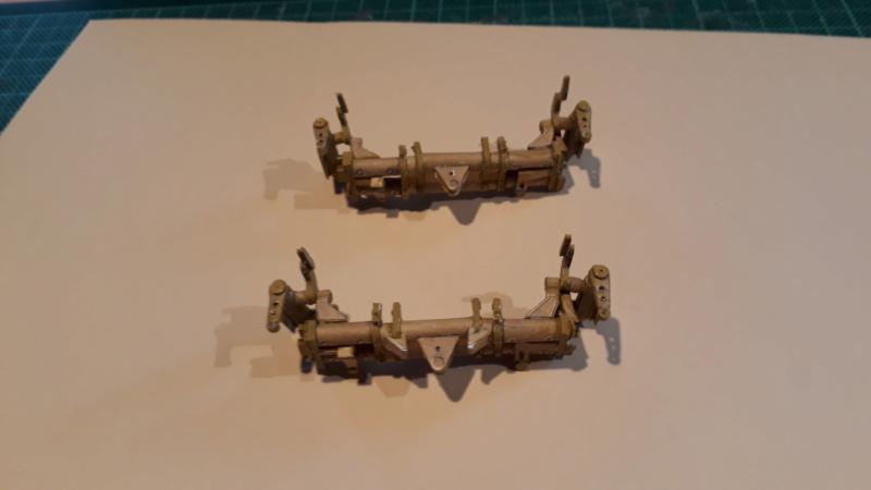 Fertig 12,8 cm Kanone-Krupp,Maßst. 1:25 geb. v. Henning 20181040