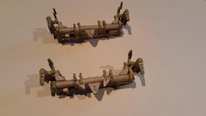 Fertig 12,8 cm Kanone-Krupp,Maßst. 1:25 geb. v. Henning 20181041