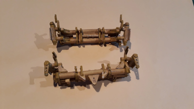 Fertig 12,8 cm Kanone-Krupp,Maßst. 1:25 geb. v. Henning 20181042