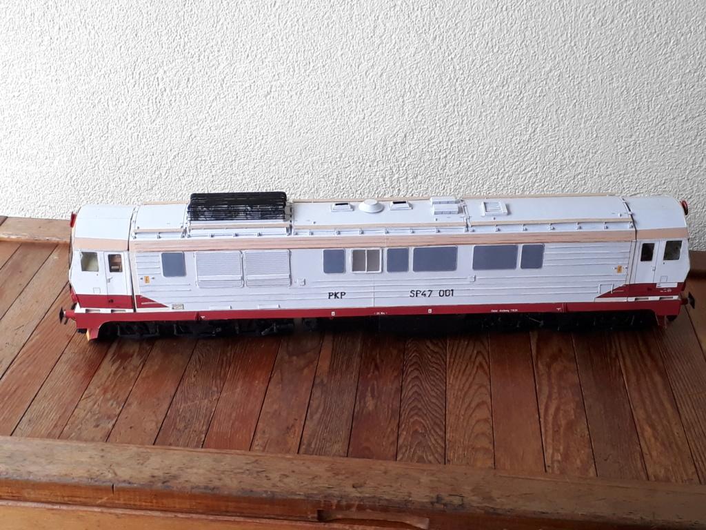 Schnellzug-Diesellok SP 47,Maßst. 1:25, geb.von Henning - Seite 4 20190147