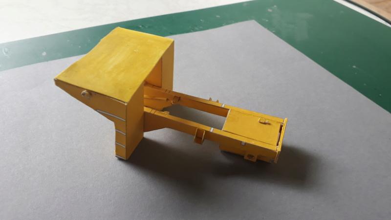 Kranwagen mit Tieflader u. Straßenwalze,1:32 geb. v. Henning 20190788