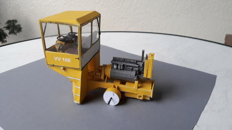 Kranwagen mit Tieflader u. Straßenwalze,1:32 geb. v. Henning 20190814