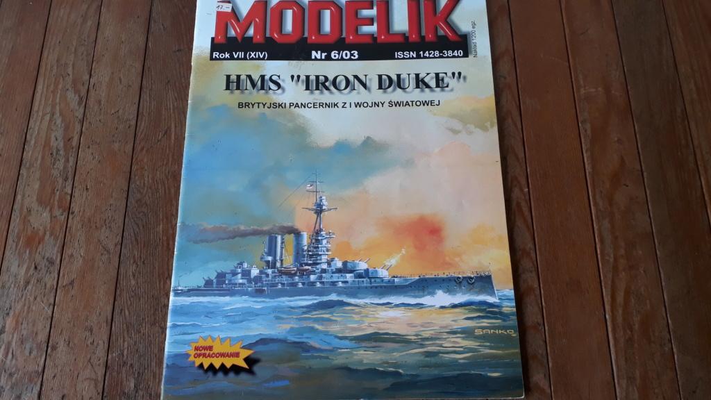 HMS 'Iron Duke', 1:200 von Modelik, geb. von Henning 20200379