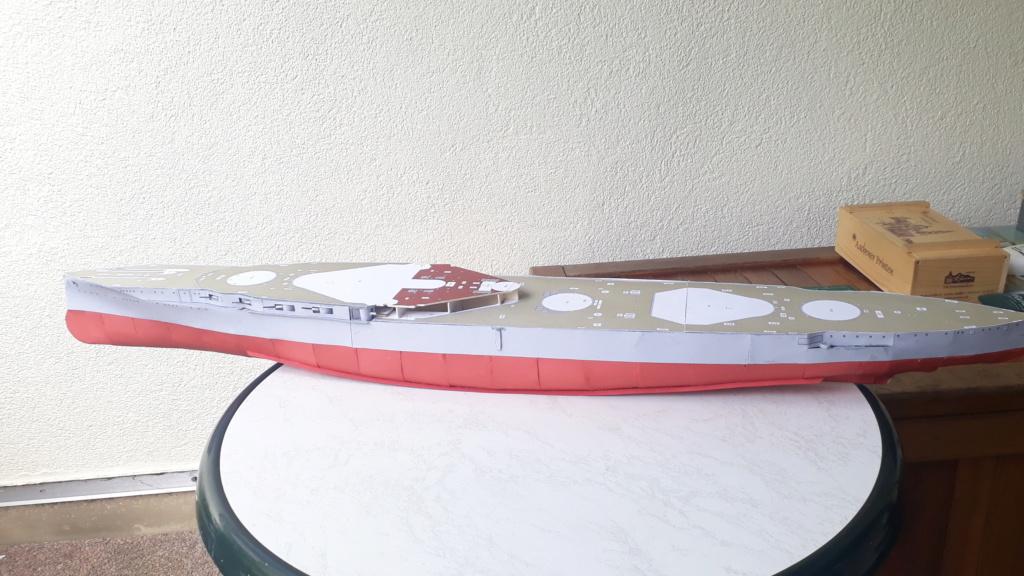 HMS 'Iron Duke', 1:200 von Modelik, geb. von Henning 20200420