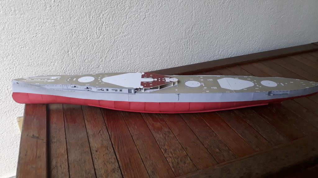 HMS 'Iron Duke', 1:200 von Modelik, geb. von Henning 20200422