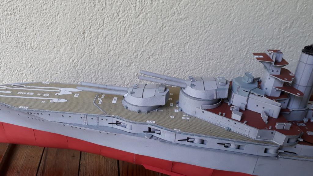 HMS 'Iron Duke', 1:200 von Modelik, geb. von Henning - Seite 2 20200445