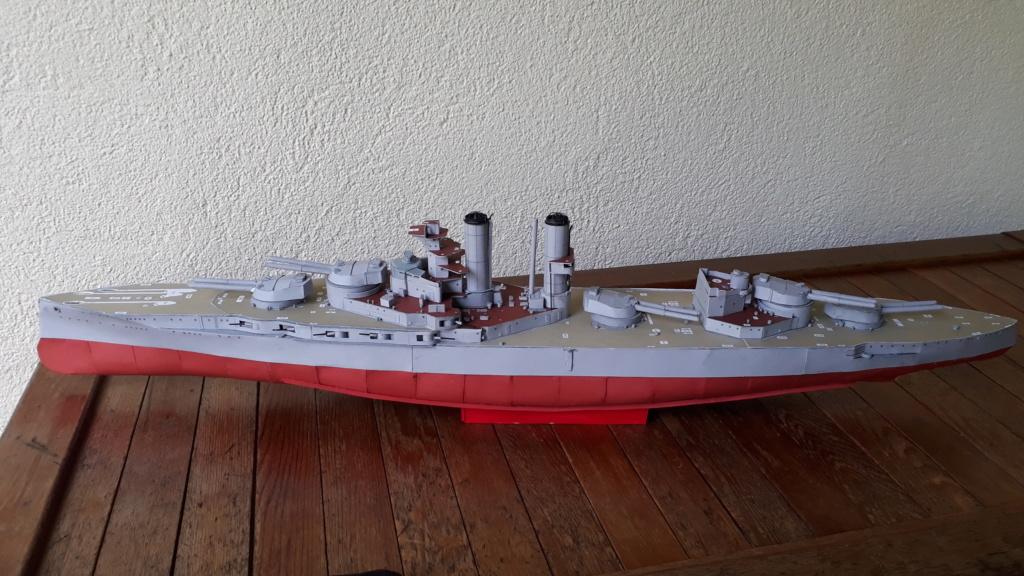 HMS 'Iron Duke', 1:200 von Modelik, geb. von Henning - Seite 2 20200446