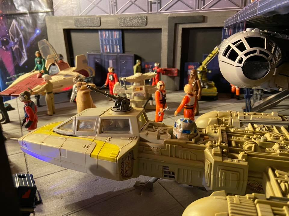 Making of hangar star wars vintage  332
