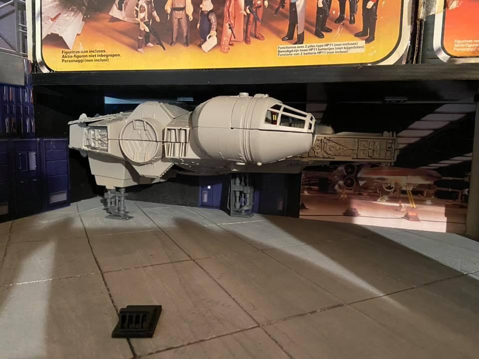 Making of hangar star wars vintage  424