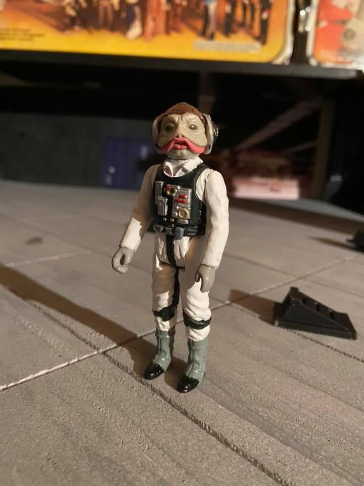 Making of hangar star wars vintage  719