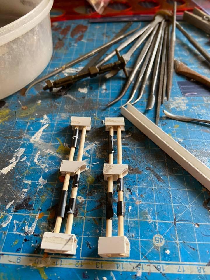 Making of hangar star wars vintage  Verins10