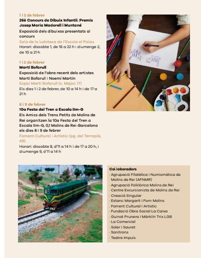 festa del tren Molins de rei 2020 (8 i 9 de febrer) - Página 2 Candel10
