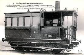 automotor de vapor Francès a escala G/IIm Descar11