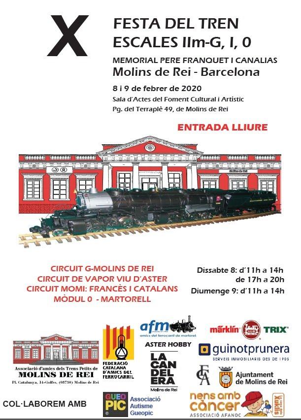 festa del tren Molins de rei 2020 (8 i 9 de febrer) Img-2045