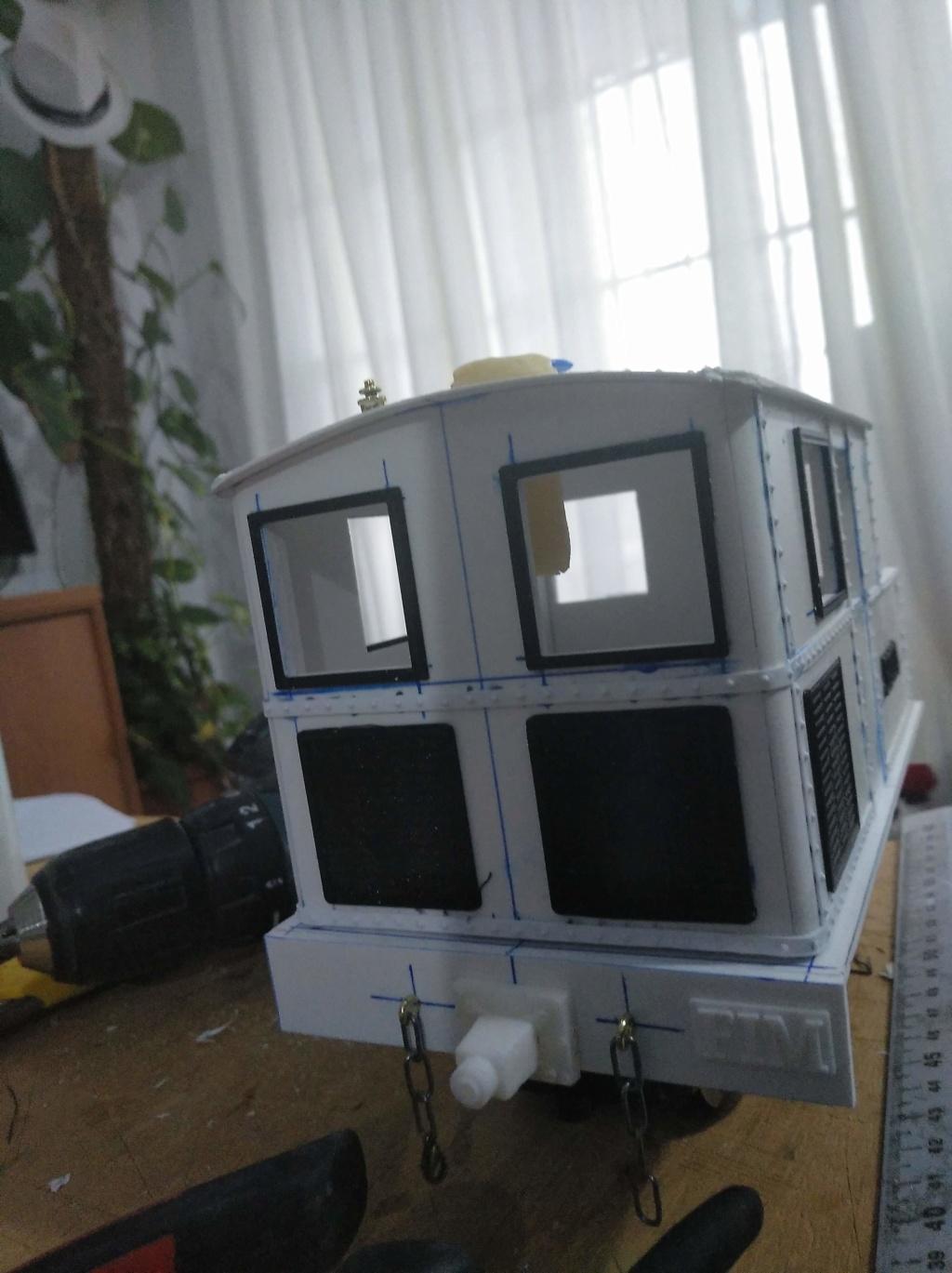 locomotora vapor sentinel Y3 a escala G/IIm Img_2892