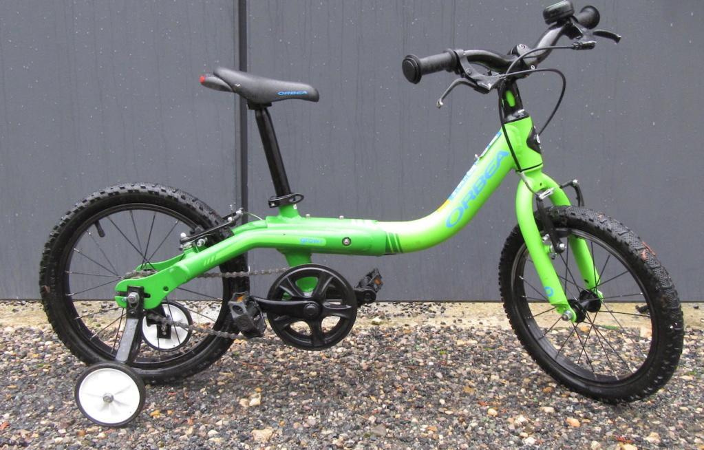 Vélo enfant Orbea grow1 16 pouces Img_2610