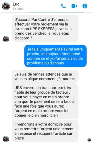 Arnaque UPS  10088210