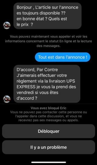 Arnaque UPS  10149210