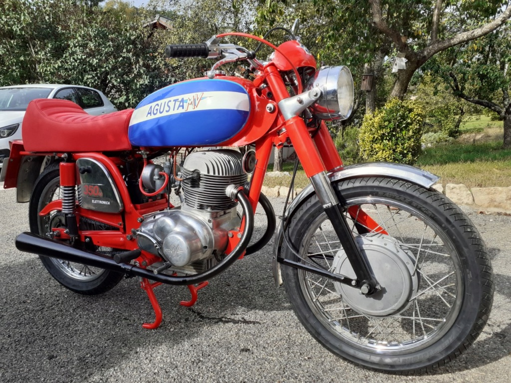 Restauration 350 MV AGUSTA - Page 2 Thumbn25