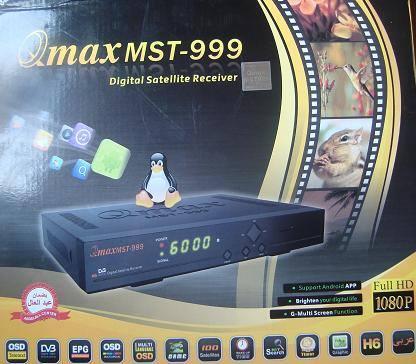 سوفت وير رسيفر Qmax 999 H6 لحل مشاكل التهنيج و لحل مشكلة ملف قنوات خطأ 282110