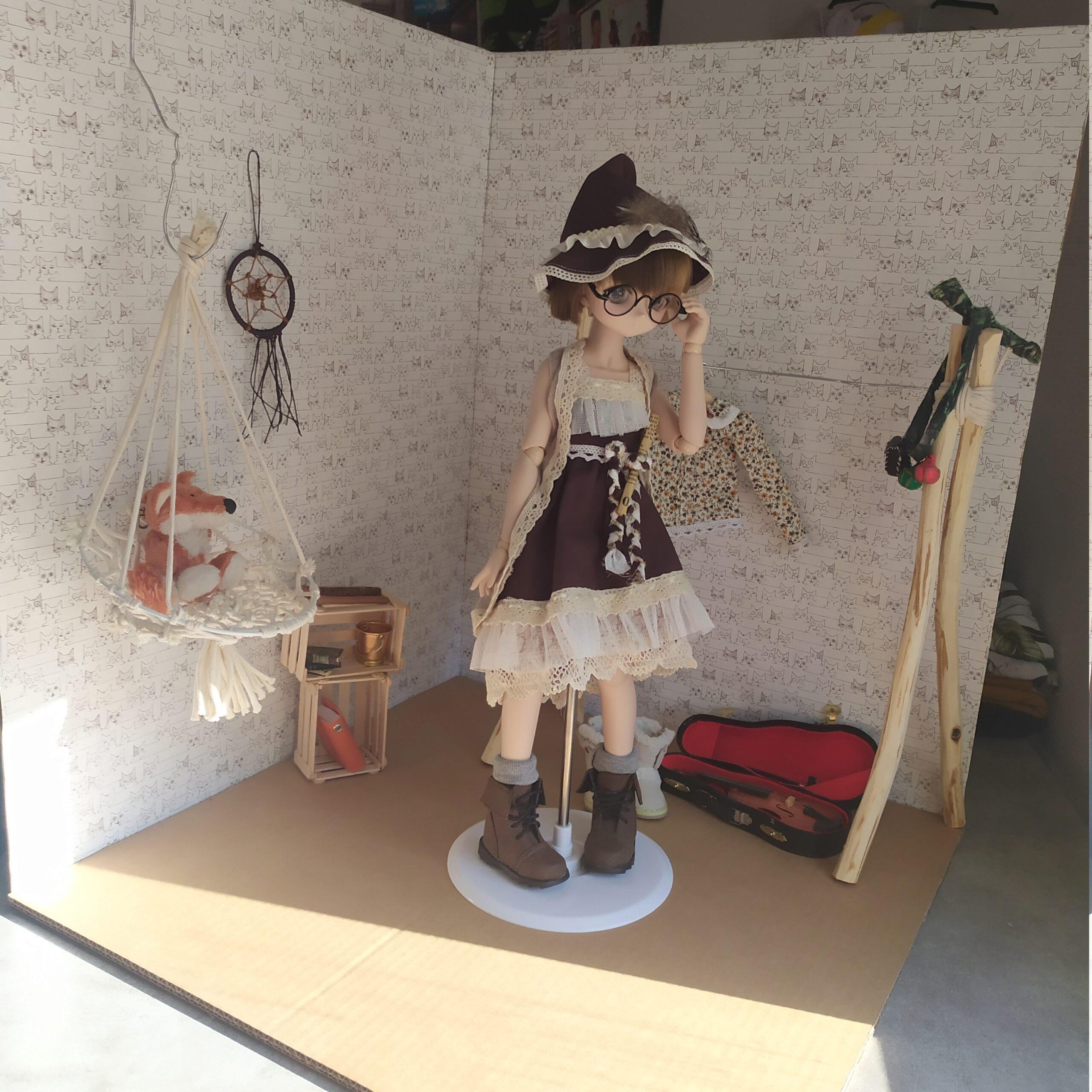 [Diorama] 1/4 - une petite pièce pour les photos.  Img_2344