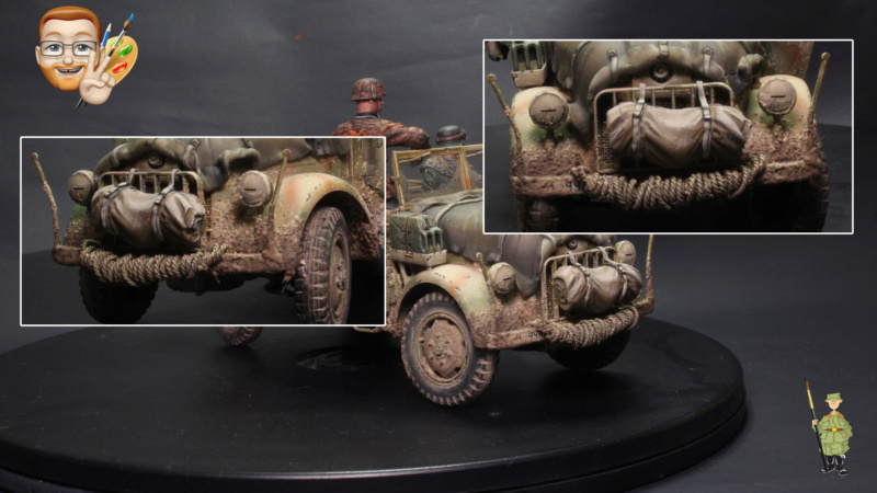German STEYR TYPE 1500A/01 au 1/35 – TAMIYA - Et les figurines ? - Page 3 Comple10