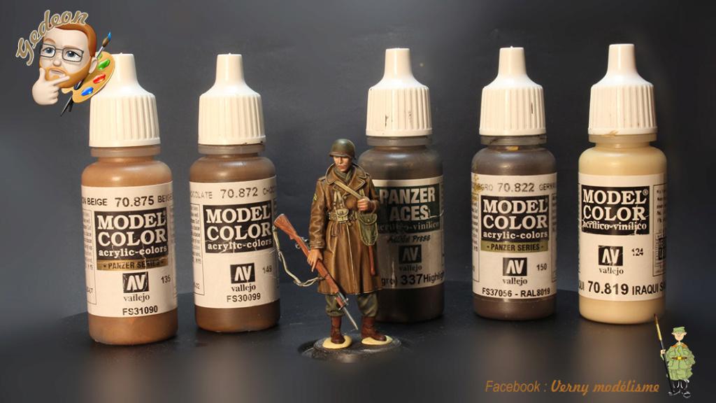 Soldat U.S. tenue d'hivers Alpine Miniature au 1/35ème Couleurs utilisées Img_3312